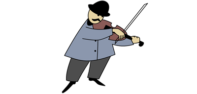 Squeaky violin player