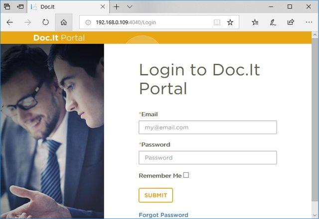 Doc.It Portal Login