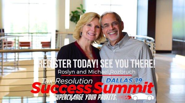Michael Rozbruch Tax Resolution Success Summit