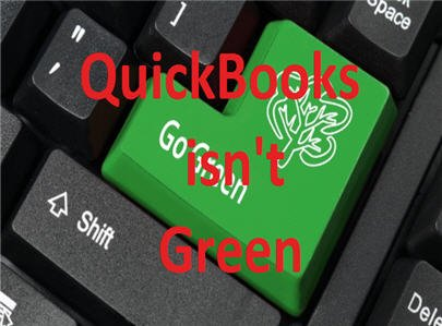 QuickBooks is not green.jpg