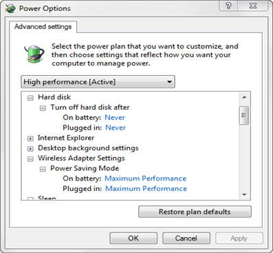 Power Settings - Hard disk.jpg