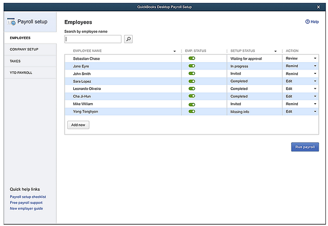 QBDT-2020_Payroll-Setup-status