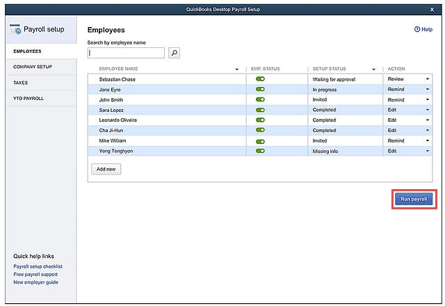 QBDT-2020_Payroll-setup_Run-payroll