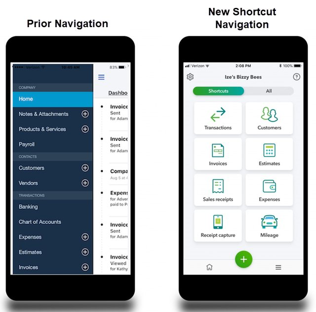 Quickbooks Mobile App Is Getting A Redesign