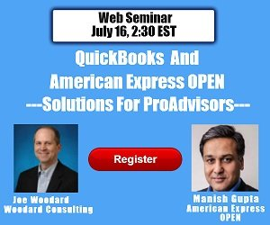 QuickBooks and American Express OPEN