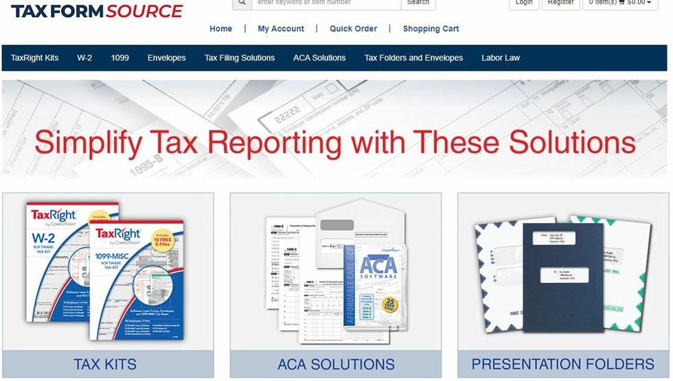 TaxFormSource