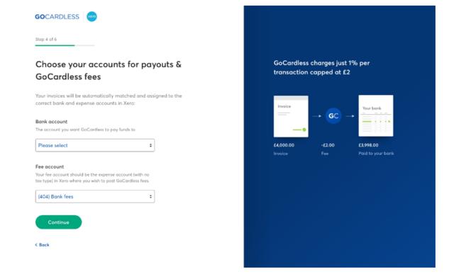 Xero GoCardless payables