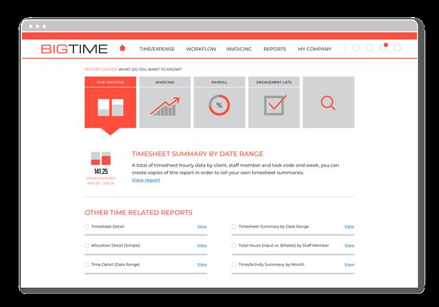BigTime - Report Center