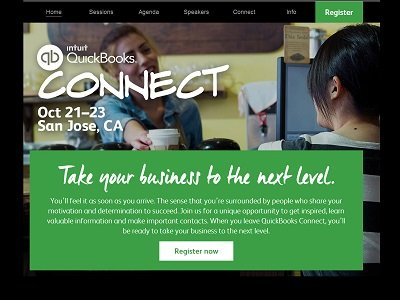 QuickBooks Connect Website