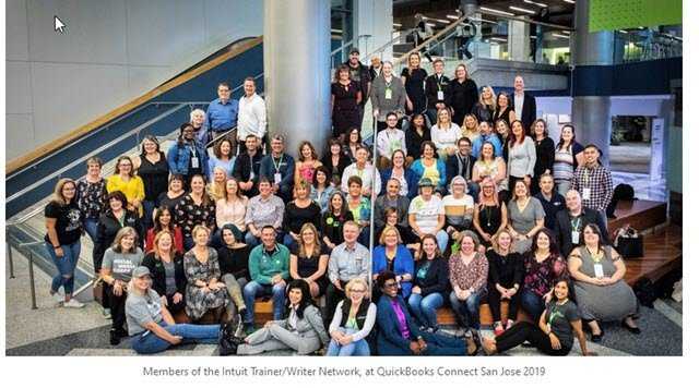 2019 Intuit Trainer Writers