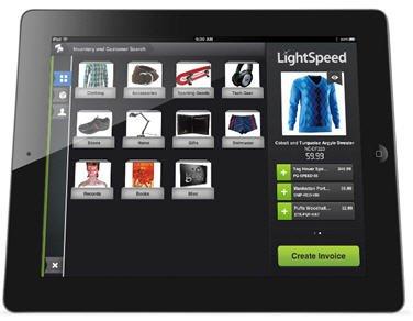 LightSpeed IPad POS Good Looking