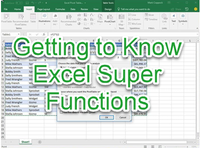 Excel Super Functions