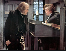 Scrooge and Cratchit