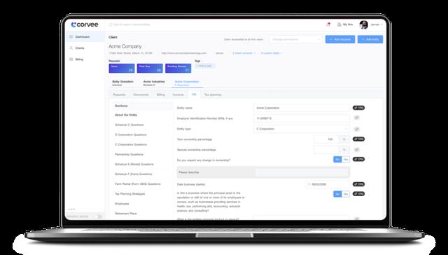 Corvee-tax-planning-software