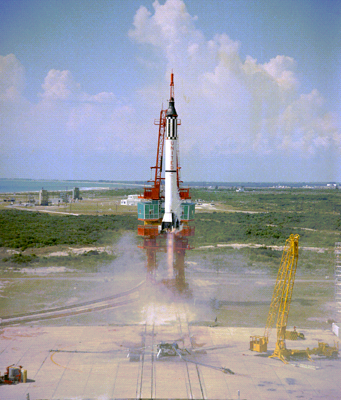 Mercury-1_Alan Shepard_1st manned flight
