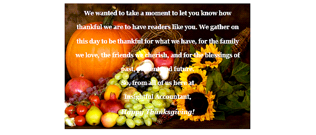 Thanksgiving message 2020