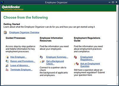 Employee Organizer