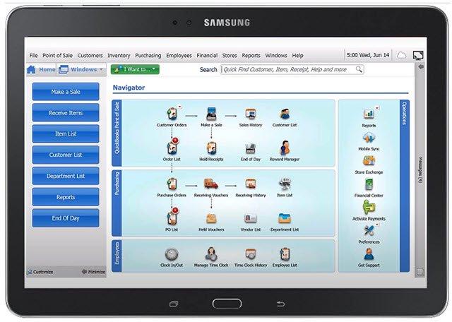 QB-POS-19 on Samsung-Galaxy