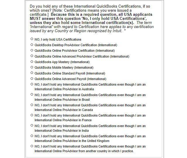 International-certification
