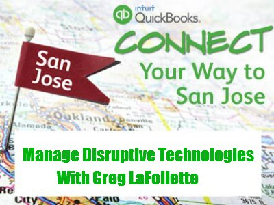 Greg LaFollette at QuickBooks Connect