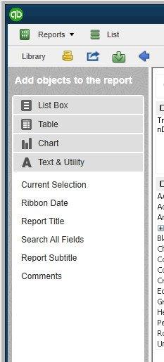 QBAR - List boxes