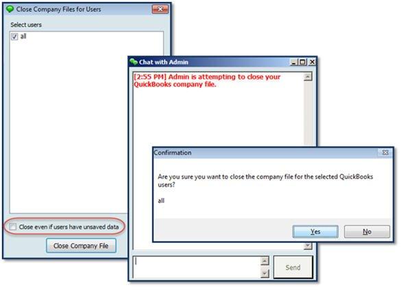 Improved Close Company File feature