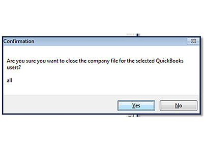 Terminate QuickBooks Connection