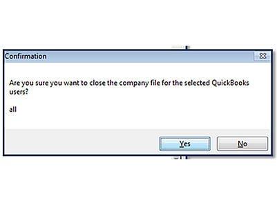 Terminate QuickBooks Connection