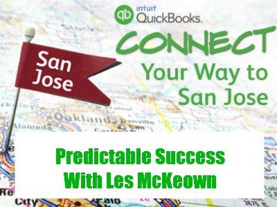 Les McKeown - Predictable Success At QuickBooks Connect