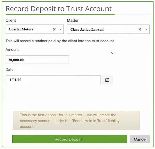 Legal-trust-deposit