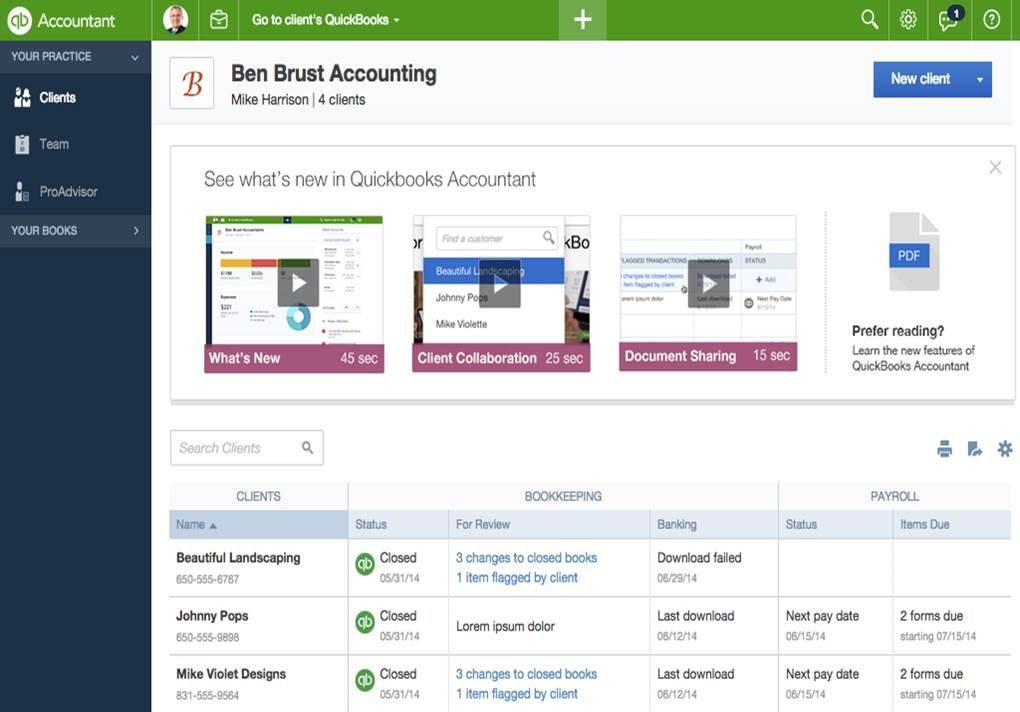 Intuit Announces New Quickbooks Proadvisor Program