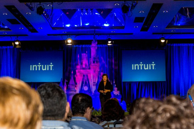 Intuit's Keynote Address fits into the Magic of Disney