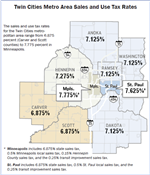 Minnesota Twin Cities Sales Tax Rate Map.png