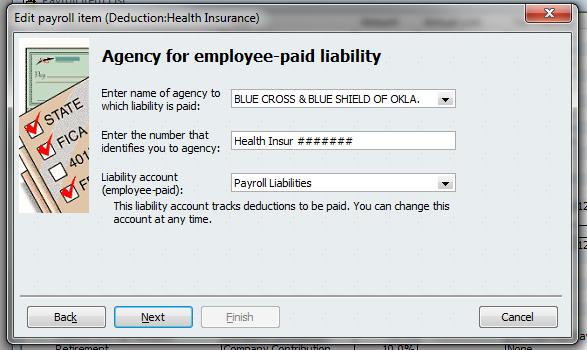 Pay Item Deduct