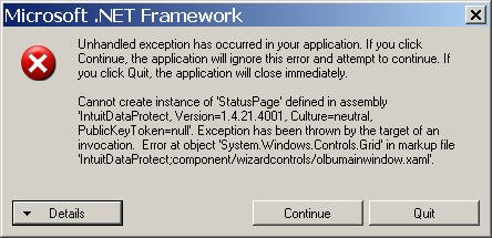 TECHNO TOPIC: QuickBooks and Microsoft  NET Framework Issues