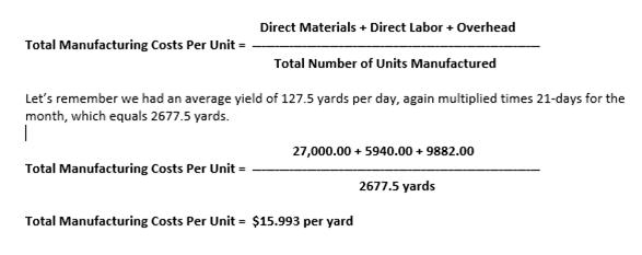 measuring manufacturing performance