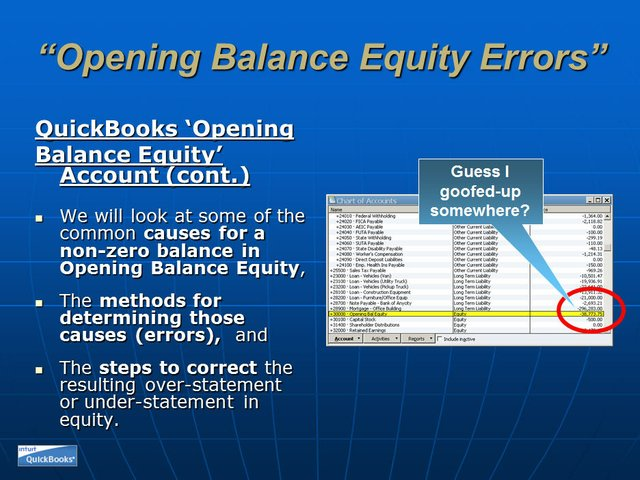 Opening Balance Equity 05