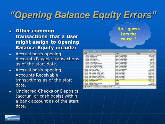 Opening Balance Equity 08