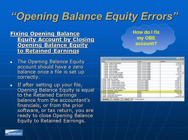 Opening Balance Equity 09