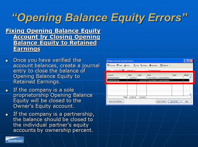 Opening Balance Equity 10