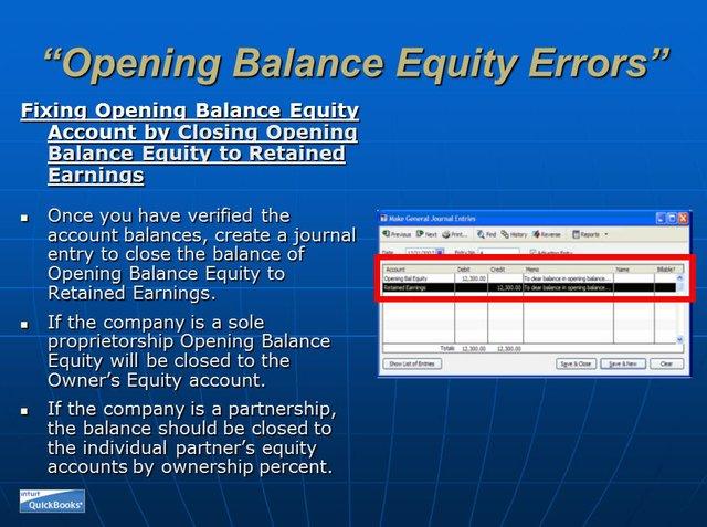 Opening Balance Equity 10