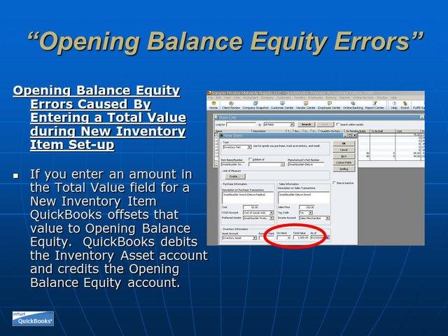 Opening Balance Equity 11