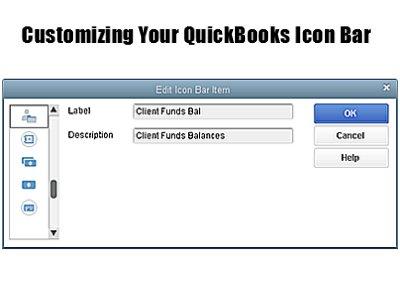 Customize Icon Bar