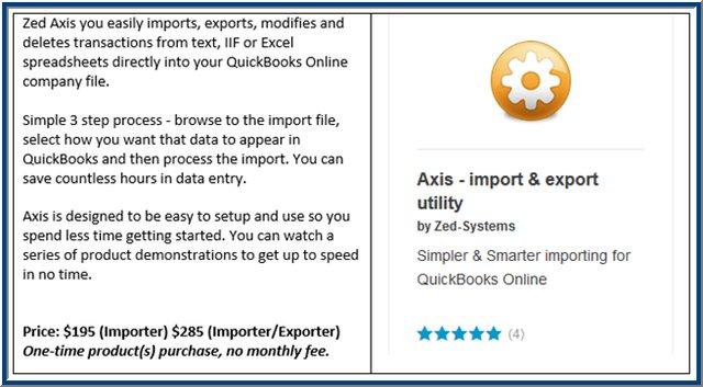 Axis QBO App