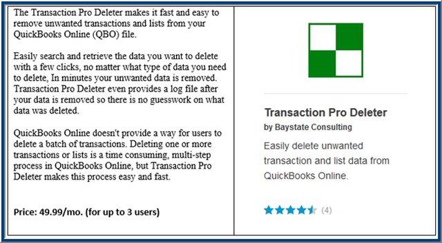 QBO Transaction Pro Deleter