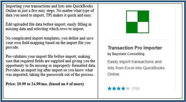 QBO Transaction Pro Importer