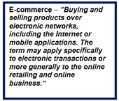 Ecommerce Definition