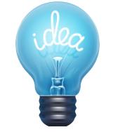 Idea - light bulb