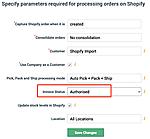 Dear Shopify Integration