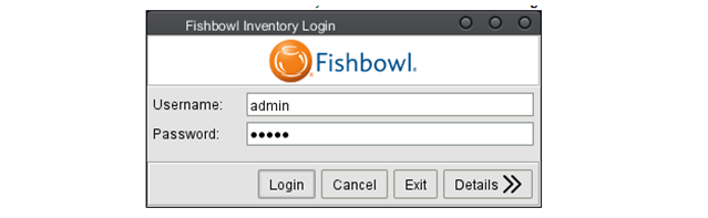 Fishbowl Anywhere Client Login